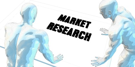 market research: Market Research Discussion and Business Meeting Concept Art