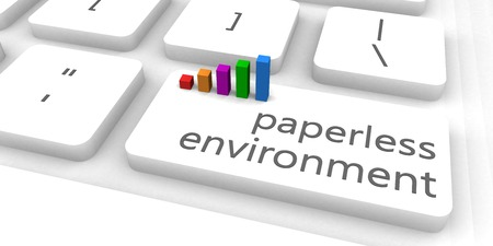paperless: Paperless Environment as a Fast and Easy Website Concept