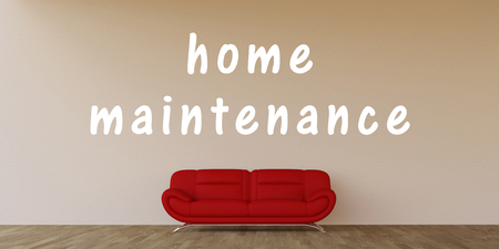 upkeep: Home Maintenance Concept with Home Interior Art