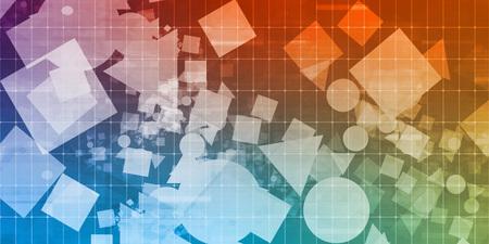 forme: Creative formes abstraites sur un Grid Layout for Design Web