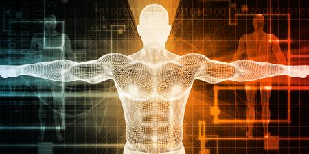 biomedical: Biomedical Engineering or Biology Medical Bioligcal Concept Stock Photo