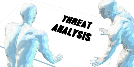 threat: Threat Analysis Discussion and Business Meeting Concept Art Stock Photo