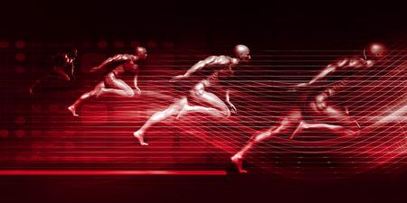 Sportowe treningi i bieganie razem w konkursie