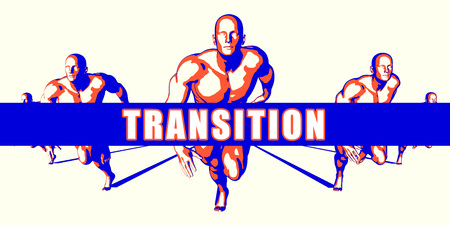 transition: Transition as a Competition Concept Illustration Art