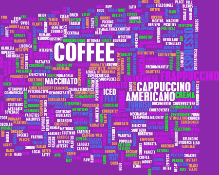background coffee: Coffee Background with Different Blends and Types