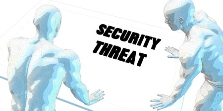 threat: Security Threat Discussion and Business Meeting Concept Art