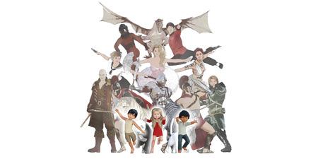 Children Fantasy Book Concept Using Their Imagination