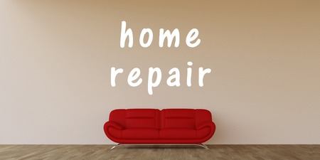 reparations: Home Repair Concept with Home Interior Art