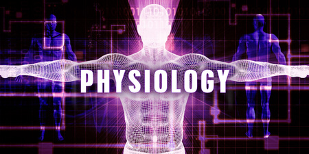 physiology: Physiology as a Digital Technology Medical Concept Art
