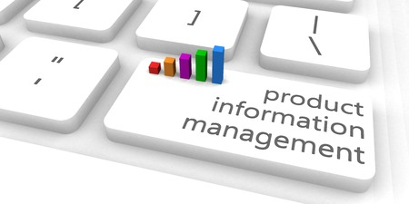 product information: Product Information Management or PIM as Concept Stock Photo