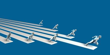 Management-Strategie und strukturierte Team Dynamics als Konzept