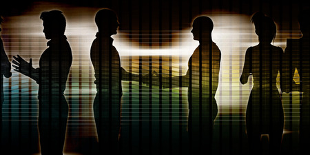 exchanging: Exchanging Ideas Between Businessmen and Discussion Art