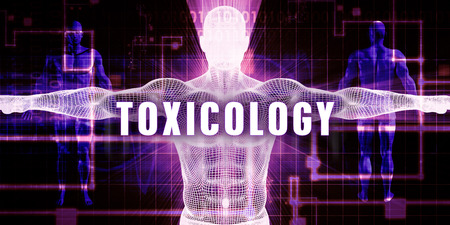 toxicology: Toxicology as a Digital Technology Medical Concept Art