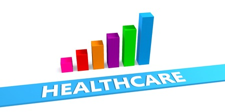 enhance: Great Healthcare Concept with Good Chart Showing Progress