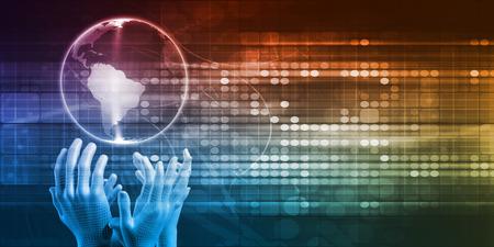 mundo manos: Accesibilidad Global de Tecnología como un resumen de antecedentes