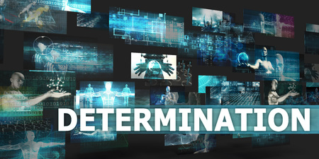 disruption: Determination Presentation Background with Technology Abstract Art