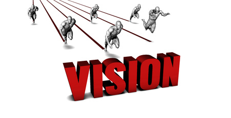 Better Vision with a Business Team Racing Concept