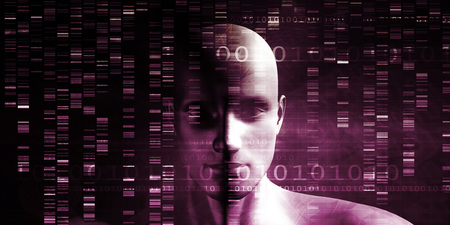science scientific: Scientific Research and Genetic DNA Science Concept Stock Photo
