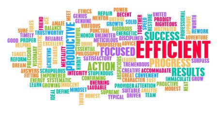 Efficient Word Cloud Concept on White