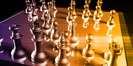 Business Strategy with a Chess Board Concept