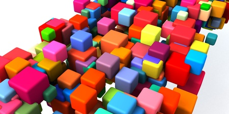 Blockchain Technology as a Creative Business Concept Zdjęcie Seryjne