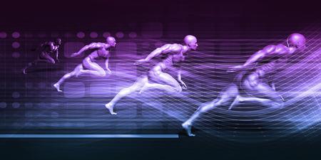 subsystems: System Integration Technology Futuristic Platform Concept Art Stock Photo