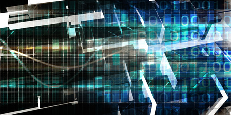 technology security: Digital Technology Network and Cyber Security Grid