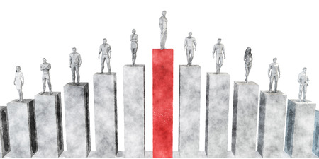 corporate ladder: Climb the Corporate Ladder as a Business Concept