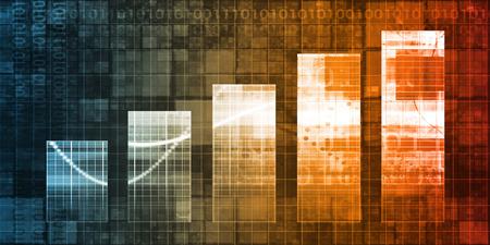 디지털 마케팅 성과 지표 분석 솔루션 개념 스톡 콘텐츠