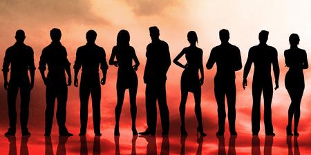 Business People Success Achievement as a Concept