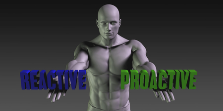 reactive: Reactive or Proactive as a Versus Choice of Different Belief