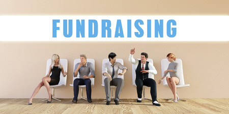 discussed: Business Fundraising Being Discussed in a Group Meeting