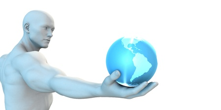 next: Global Network Business Community as Futuristic Concept Stock Photo