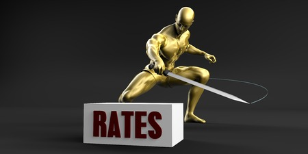 Reduce Rates and Minimize Business Concept