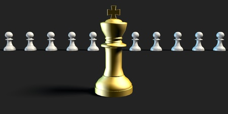 skillset: Perfect Job Candidate Business Chess Concept Art