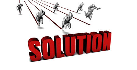 Better Solution with a Business Team Racing Concept