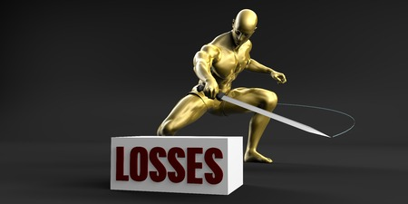 Reduce Losses and Minimize Business Concept