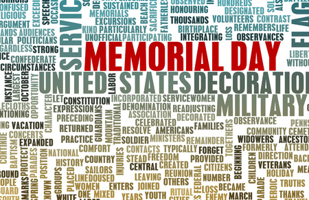 a memorial to fallen soldiers: Memorial Day and Remembering Our Fallen Soldiers