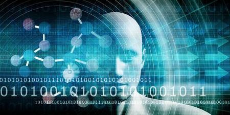 Wetenschapseducatie en ontwikkeling van wetenschappers van de toekomst Stockfoto