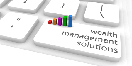 wealth concept: Wealth Management Solutions or Manager as Concept