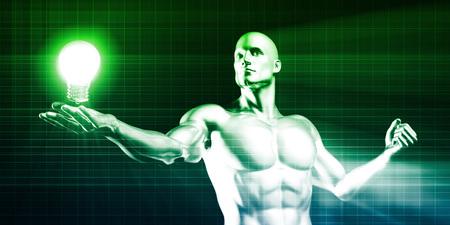 fascinação: Criatividade e inspiração como um conceito industrial Negócios Banco de Imagens