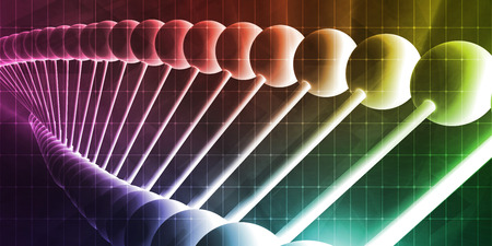 research science: Futuristic Science Concept in Medical Research Industry