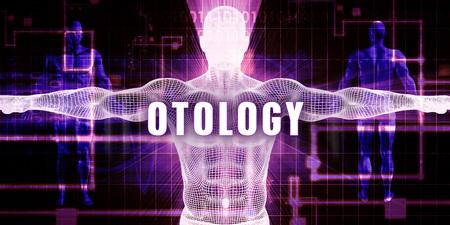Otology as a Digital Technology Medical Concept Art
