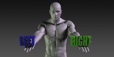 belief: Left or Right as a Versus Choice of Different Belief