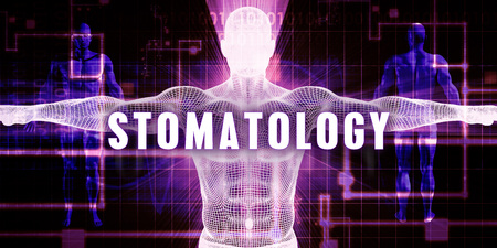 Stomatology as a Digital Technology Medical Concept Art