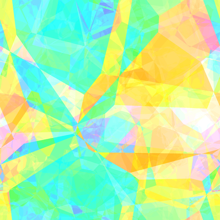 Seamless Artistic Polygon Painting Abstract Background Art