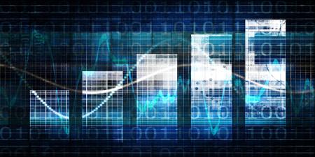 Digital Marketing Performance Metrics Analytics Solution Concept Foto de archivo