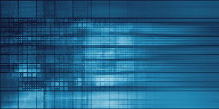 Technology Mosaic Background as a Tech Concept Art