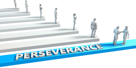 Perseverance as a Skill for A Good Employee Stock Photo