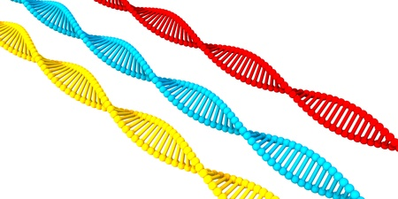 DNA Structure Presentation Abstract Background as a Concept Stock Photo
